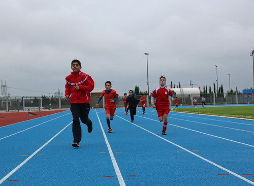 Spor Parkları, Atletizm kursu seçmeleri başladı