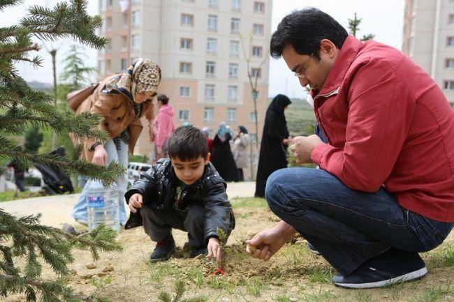Başakşehir'de Sevgi Ormanı açılıyor