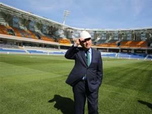 Kadir Topbaş, Başakşehir Stadyumu inşaatını ziyaret etti