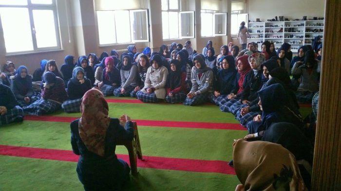 Toki Celalettin Ökten Anadolu İmam Hatip Lisesi'nde Sohbete davet