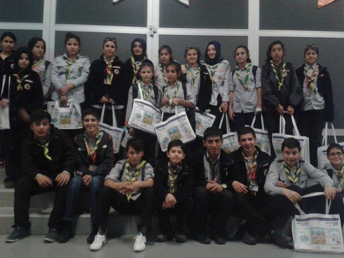 Başakşehirli izciler AFAD programına katıldı