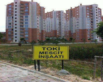 Kayaşehir Mercan Sitesi Mecsit Yapımı