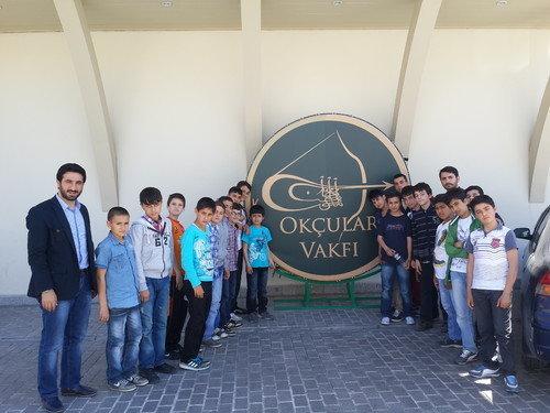 Öğrenciler, Okçular Vakfını ziyaret etti