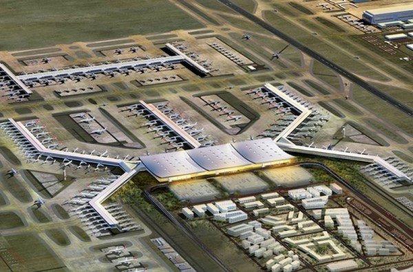 3.Havalimanı İnşaatı Bugün Başlıyor