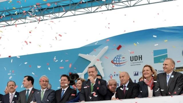 3.Havalimanı Temel Atma Töreni Yapıldı