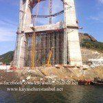 3.Köprü İnşaat Çalışması
