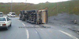 Toki Kayaşehir Keskin Virajda Yine kaza!