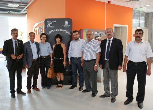 Başakşehir Living Lab'a muhtarlar Ziyaret Etti