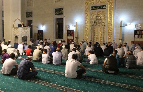 Ömer Döngeloğlu İmam-ı Azam Cami'nde