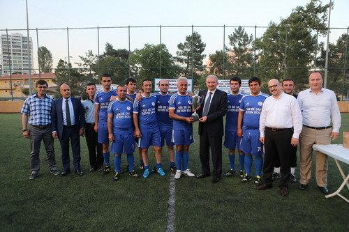 Başakşehir İBB Turnuvası'nda tüm maçları kazandı