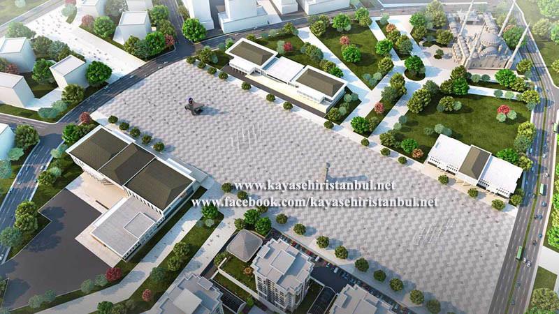 Başakşehir Kent Meydanı Fotoğrafları