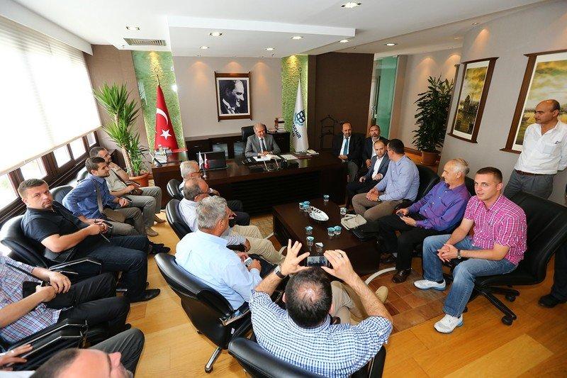 Bosna Hersek'li İmamlar Başakşehir'de