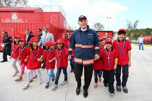 İtfaiye Tatbikatı Başakşehir'de yapıldı