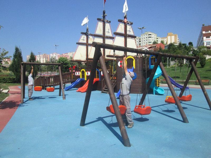 Başakşehir Parkları yenileniyor