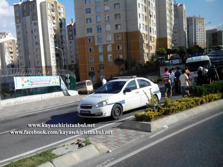 Kayaşehir Kavşak Trafik Kazası