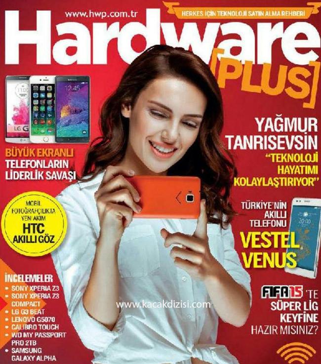 Yağmur Tanrısevsin Teknoloji Dergisi HWP'de