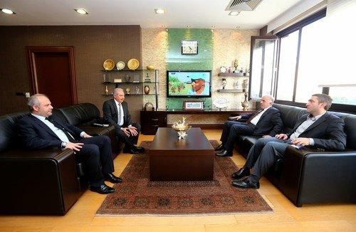 Aziz Babuşçu Başakşehir Belediyesini Ziyaret Etti