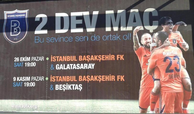 Başakşehir'de 2 Dev Maç