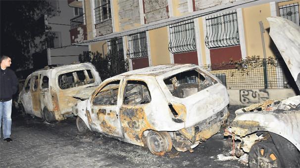 İstanbul araç kundaklama; 6 ayda 60 araç
