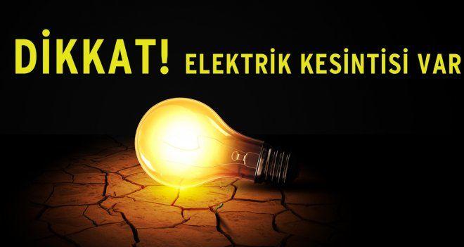 Başakşehir'de elektrik kesintisi!