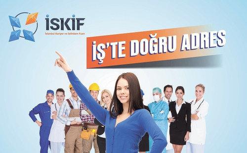 İSKİF -İstanbul Kariyer ve İstihdam Fuarı- başlıyor