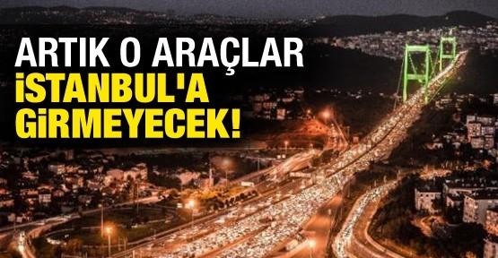 Ağır Araçların İstanbul'a Girmesi Yasaklanacak