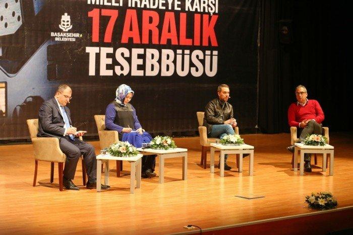 Başakşehir'de 17 Aralık Tartışıldı