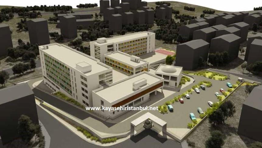 Başakşehir Kız İmam Hatip Okulu'nun park alanına yapıldığı iddiası