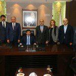 Başbakan Başakşehir Belediyesini ziyaret etti