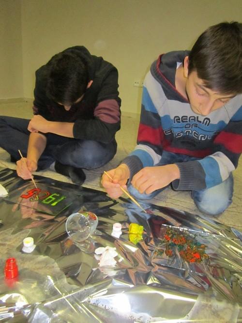 Merkez İzcilik Gençlik ve Spor Kulübü Sanat Çalışmaları