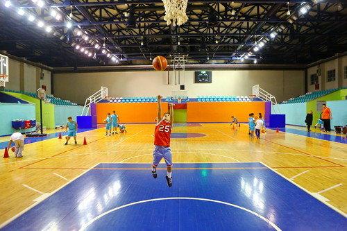 Bahçeşehir Spor Merkezi sporcu yetiştiriyor