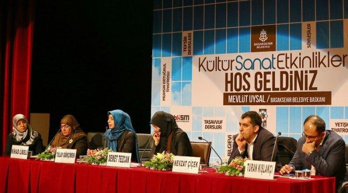 Başakşehir'de Ortadoğu paneli Düzenledi