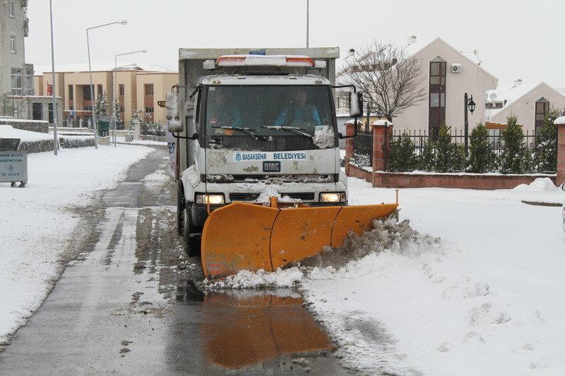 Başakşehir Belediyesi Karla Mücadelesi