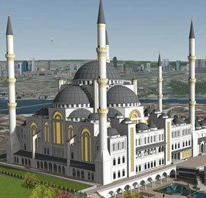 Çamlıca Camii Resimleri