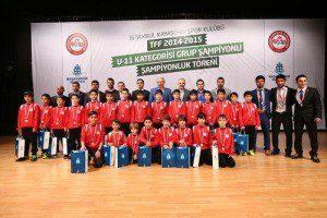 Kayaşehir Spor Kulübü U-11 Şampiyonu