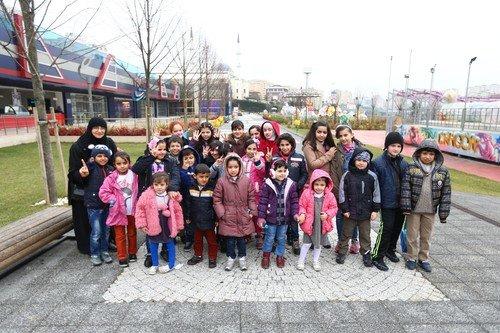 Savaşın çocukları Bilgievlerimize misafir oldu