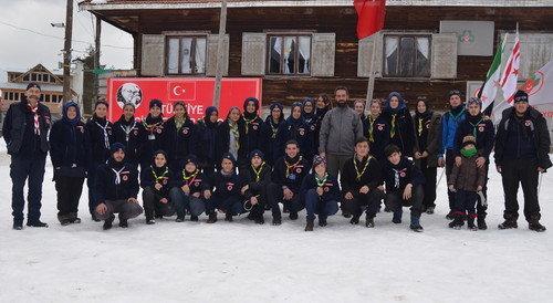 Başakşehir İzcileri Bolu Kış Kampında