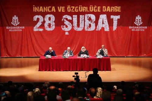 Başakşehir'de 28 Şubat tartışıldı