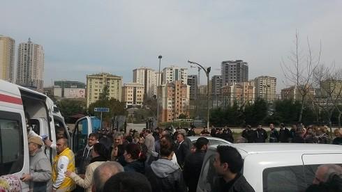 Başakşehir Göçmen Konutları'nda Eylem