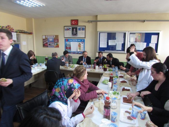 Ramazan Yılmaz Okul Ziyaretinde
