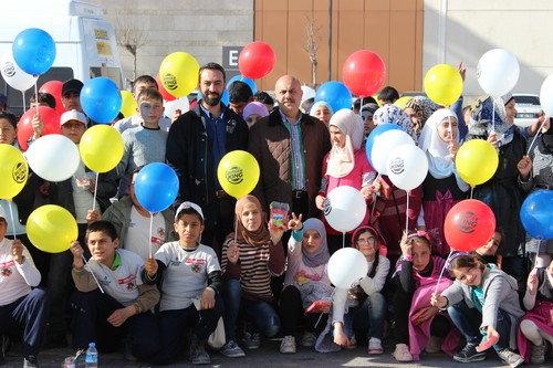 Başakşehir izcileri, Çadırkent'i ziyaret etti