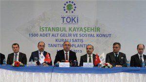 Toki Kayaşehir Alt Gelir Grubu 3 Ayda Teslim