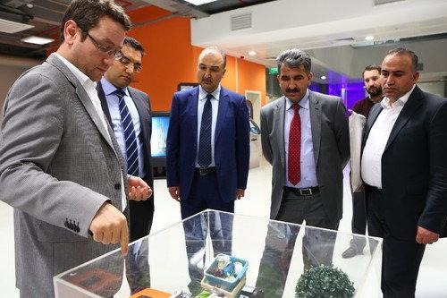 Başakşehir,Belediye Başkan Yardımcılarını ağırladı