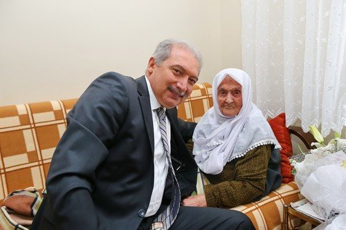 Başakşehir'in en yaşlı sakini