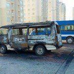 Kayaşehir Minibüs Yandı