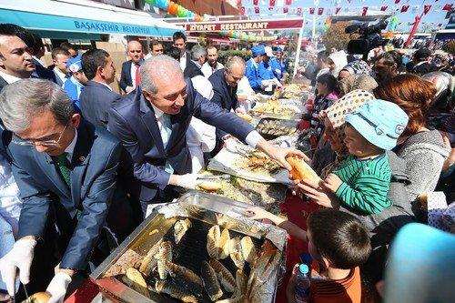 Başakşehirliler bahar'ı festivalle kutladı
