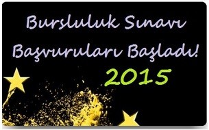 2015 Bursluluk Sınavı Başvuruları için Gerekli Belgeler!