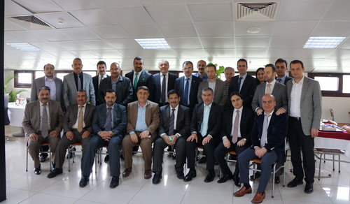 Irak Meclis Üyeleri'nin belediye ziyareti
