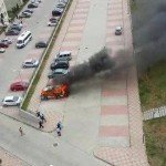 Kayaşehir Otopark Minibüs Yangını