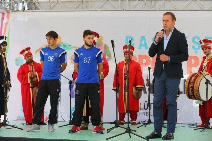 Başakşehir Spor Parkı'nın açılışı yapıldı
